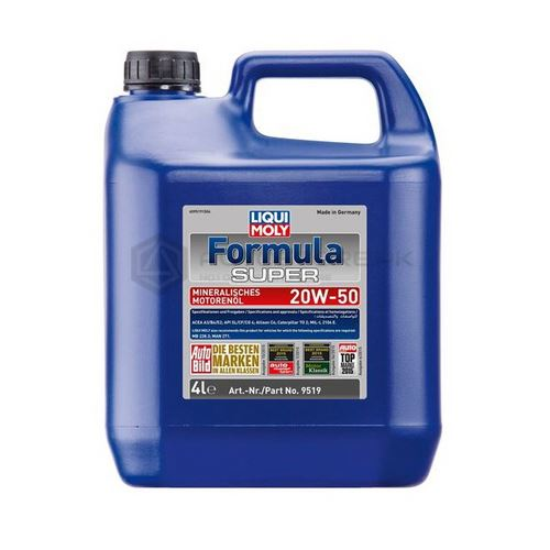 Liqui Moly Formula Super Engine Oil 20W-50