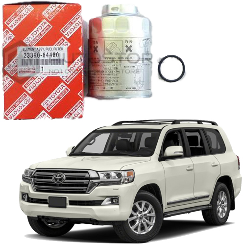 how to change toyota land cruiser fuel filter
