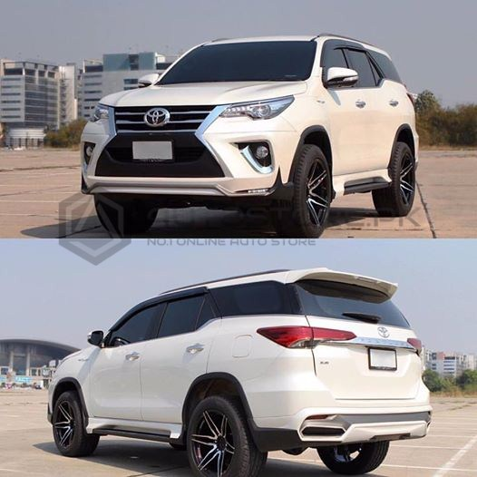 Toyota Fortuner 2020 Lexus Body Kit: Toyota Fortuner Ativus Body Kit 4Pcs China 2016-2019