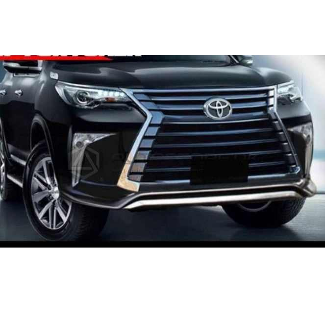 Toyota Fortuner 2020 Lexus Body Kit: Toyota Fortuner Front Conversion To LX570 Thailand 2016